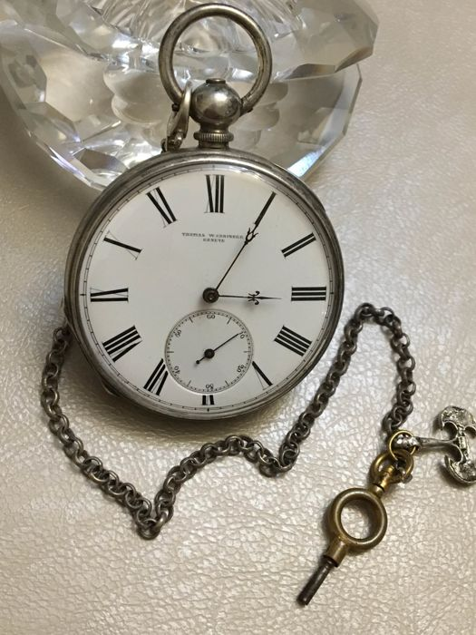 Thomas W.Grainger-Geneve-Silver - pocket watch NO RESERVE PRICE - Homem - 1850-1900