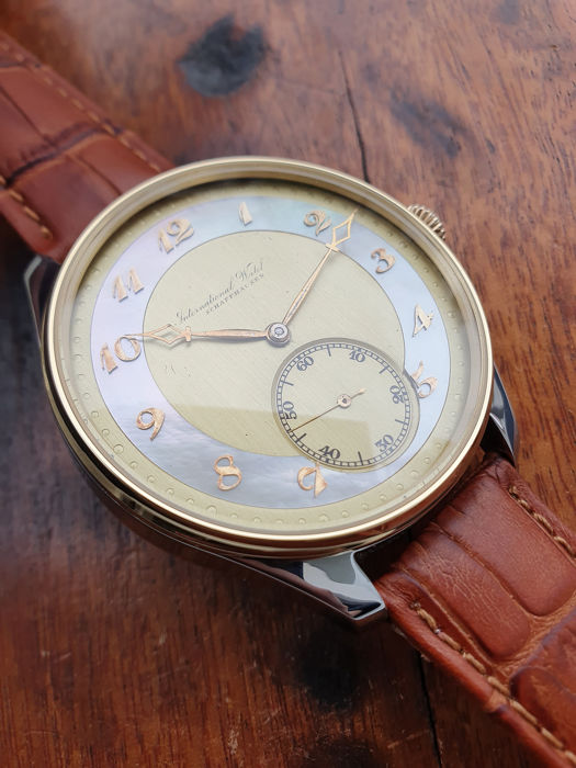 IWC - International Watch Co. - Marriage watch - cal.74 - ca.1926 - Hombre - 1901 - 1949