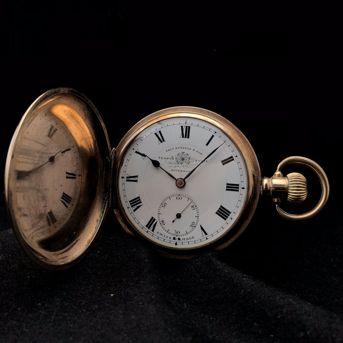Thomas Russel & Sons - Tempus Fugit pocket watch  - NO RESERVE PRICE - Herren - 1901-1949