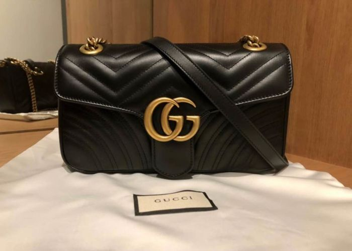 95d92acd948 Gucci - marmont medium Crossbody bag - Catawiki