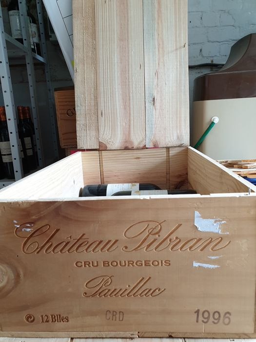 1996 Chateau Pibran delivered with OWC - Pauillac Cru Bourgeois - 4 Bottles (0.75L)