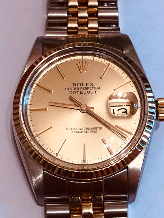 Rolex - Datejust Oyster Perletual - 16013 - Unisexe - 1980-1989
