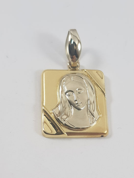 Essemme - 18 kt. White gold, Yellow gold - Pendant