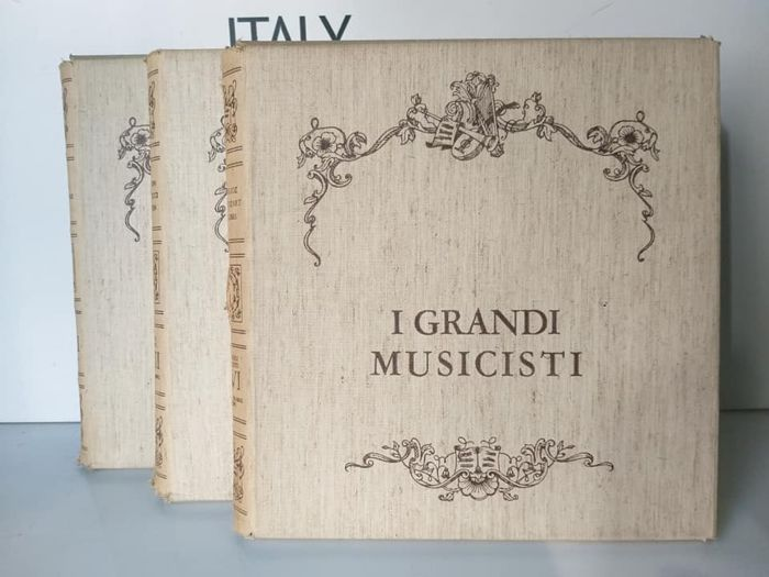 The Great Musicians W.A.Mozart-G.Martucci-L.Boccherini 1980 Italy - Multiple artists - The Great Musicians  - Multiple titles - Box set - 1981/1980