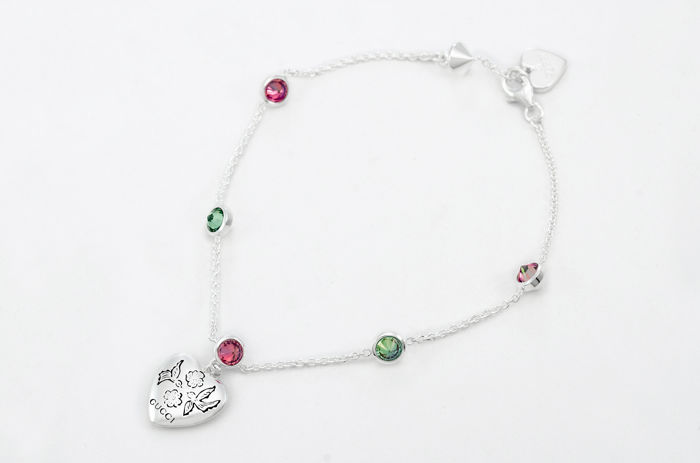 71a1a72ebe0 Gucci Zilver - Blind for Love-armband - Catawiki