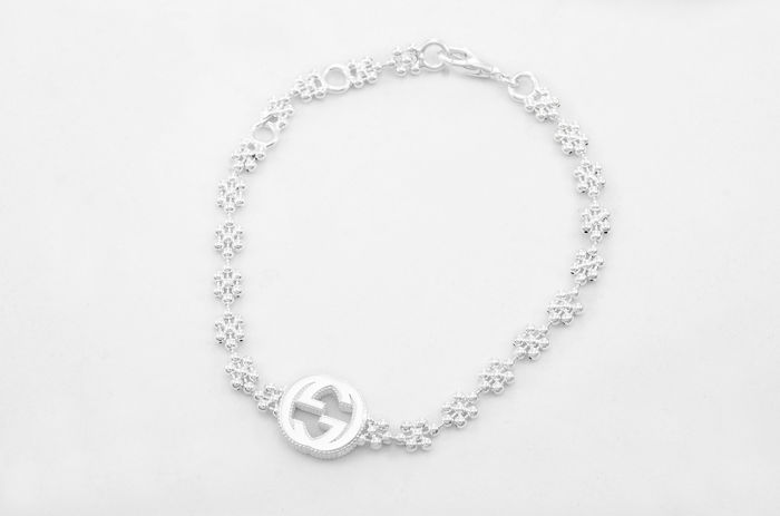 Gucci - 925 Silver - Interlocking G bracelet