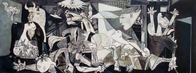Pablo Picasso ( after ) - Guernica
