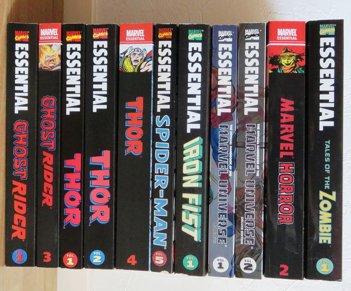 Marvel Essential - Diverse Marvel Essential  - Eerste druk