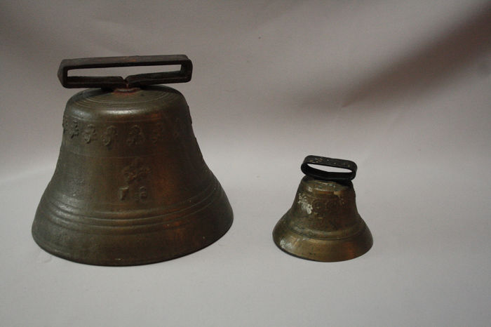 Bronze Copper bells 19th century