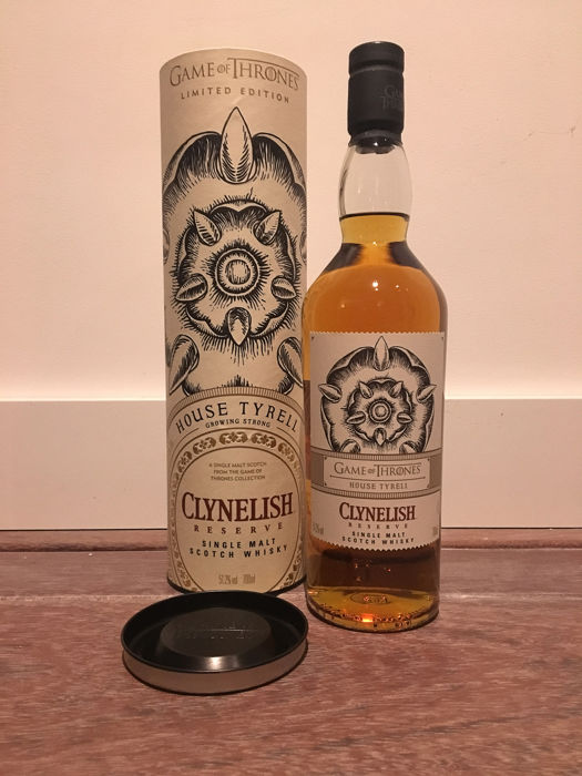 Clynelish Game of Thrones House Tyrell - 0.7 Ltr