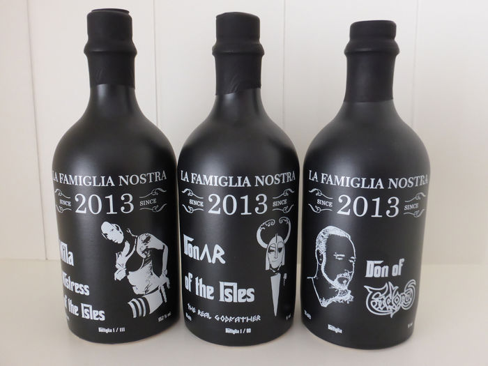 La Famiglia Nostra Donar of the Isles / Mila Mistress of the Isles / Don of Endoras - b. 2015 / 2016 - 50cl - 3 bouteilles