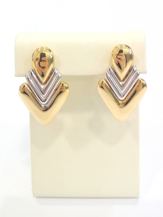 Chimento - 18 kt. White gold, Yellow gold - Earrings