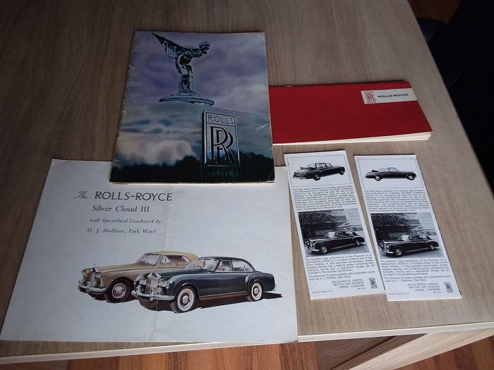 Brochures / catalogues - Rolls-Royce - Silver shadow, Phantom VI, etc. - 1964-1973