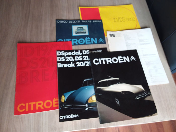 Folletos / Catálogos - Citroën - DS/ID 10/20/21 break - 1969-1972