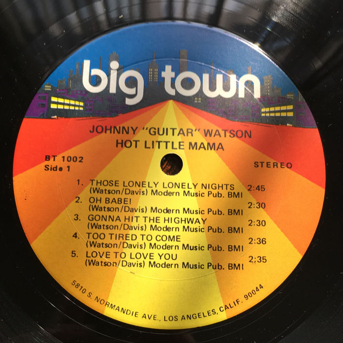 70's and 80's Funk & Soul Music: Johny Guitar Watson, Sister