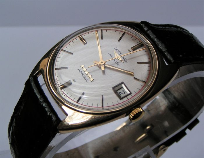 Longines - ADMIRAL 5***** - Automatic - 9K Gold - 73737 - Hombre - 1970-1979
