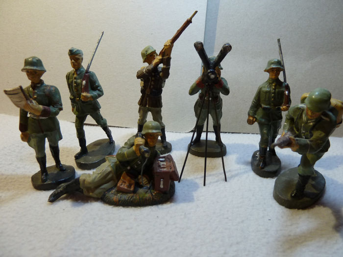 Elastolin - Model - soldiers - 1940-1949 - Germany - Catawiki