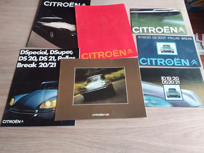 Brochures / Catalogues - Citroën - DS/ID 10/20/21 break - 1969-1973