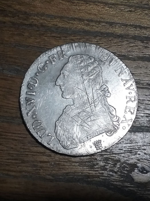France - Louis XVI - Ecu 1789-I (Limoges) - Silver