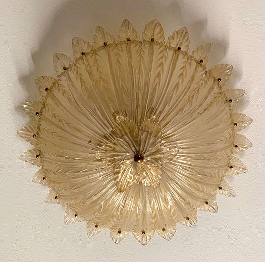 Archimede Seguso - Ceiling lamp
