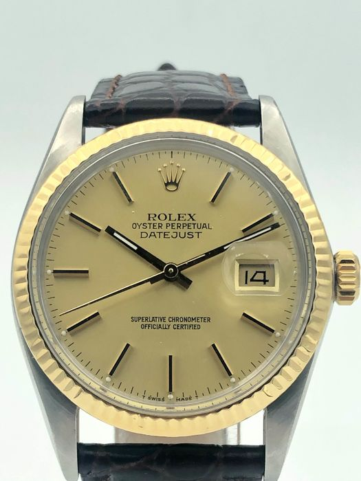 Rolex - Oyster Perpetual Datejust  - 16013 - Homme - 1987