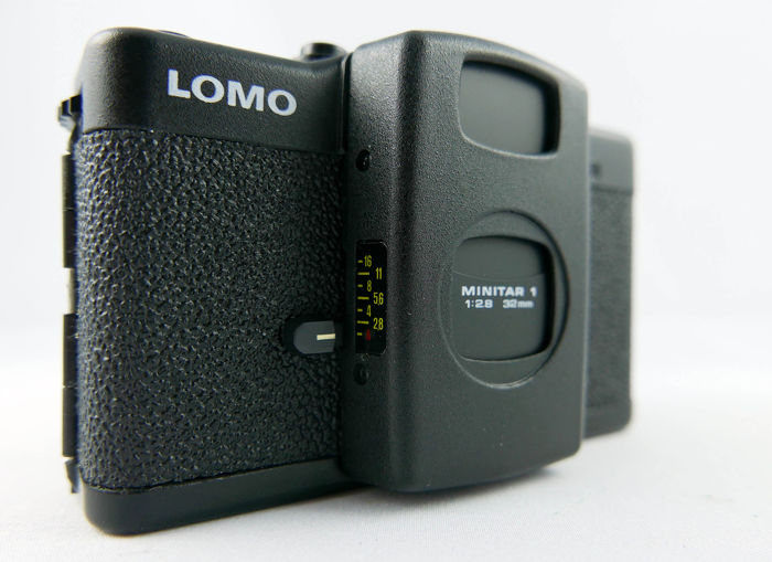 Lomo LC-A new never used with box, belt, instruction