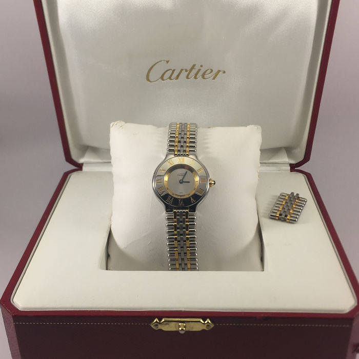 "Cartier - Must 21 - ""NO RESERVE PRICE"" - 1340 - Dames - 1990-1999"