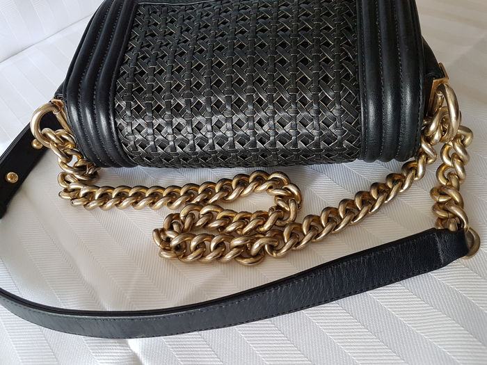 ce404805ac3466 Chanel - Braided Boy Reverso Shoulder bag - Catawiki