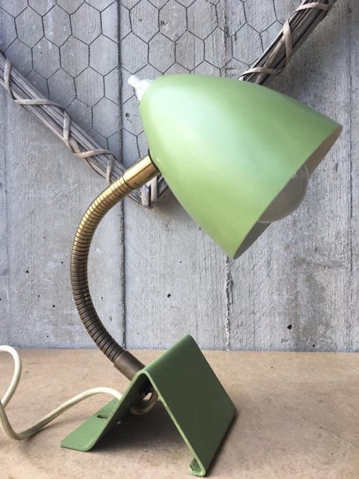 Unknown designer - Applique murale, Lampe de bureau - Acid green