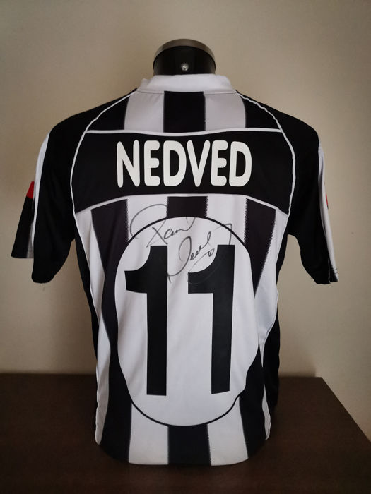 cheap for discount e8271 a6fed Juventus - Italian Football League - Pavel Nedvěd - 2003 ...