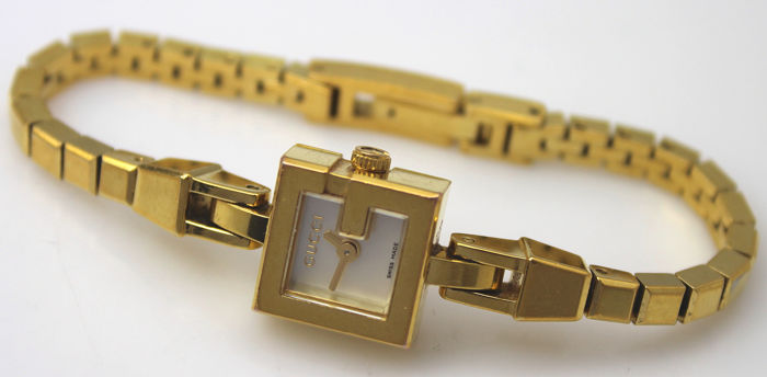 Gucci - Swiss Made 'NO RESERVE PRICE'  - Gold Plated 102 - Dames - 2000-2010