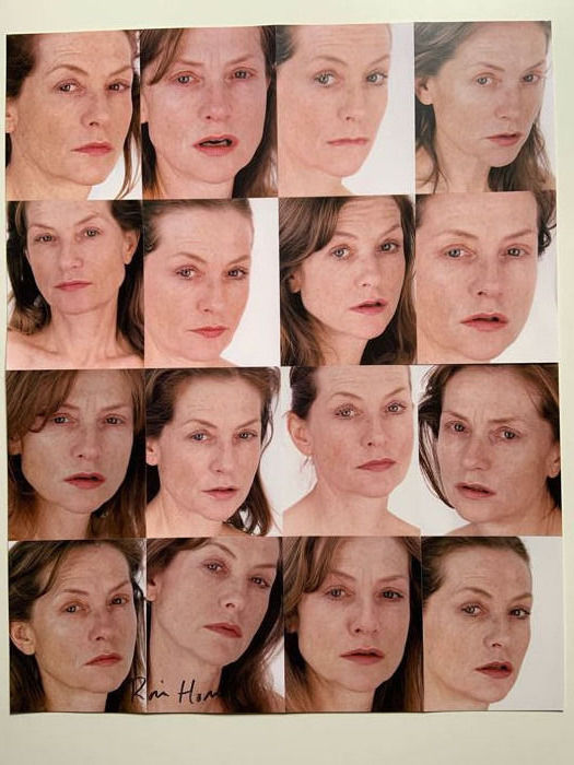 Roni Horn - Untitled (Portrait of Isabelle Huppert) signed and numbered
