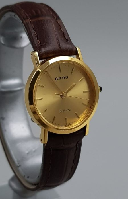 Rado - 'NO RESERVE PRICE' Quartz Gold Plated Luxury Swiss Lady - 205.9505.2 - Dames - 2011-heden