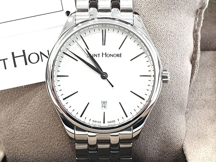 "Saint Honorè - "" NO RESERVE PRICE "" MONCEAU  - 8661171AIN - Swiss Made - Withe Dial - Stainless Steel  - Heren - 2011-heden"