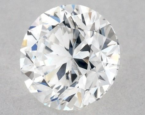1 pcs Diamante - 0.30 ct - Brillante, Redondo - D (incoloro) - VS2