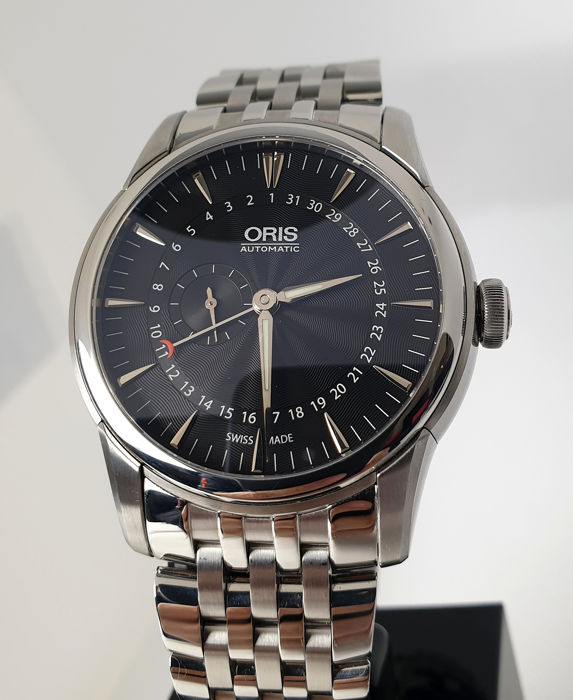Oris - Artelier Pointer Date Small Seconds - 7665 - Homme - 2011-aujourd'hui