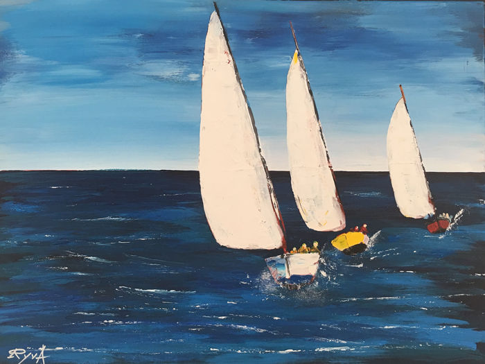 RyvA - THE 3 SAILBOATS