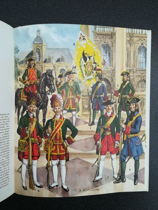 Germany - Cavalry, artillery of Liliane and Fred Funcken - Book