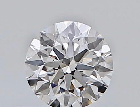 1 pcs Diamant - 0.18 ct - Briljant - E - VVS2
