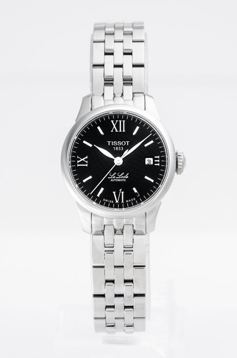Tissot - Stainless steel automatic ladies watch - T41118353 - Women - 2011-present