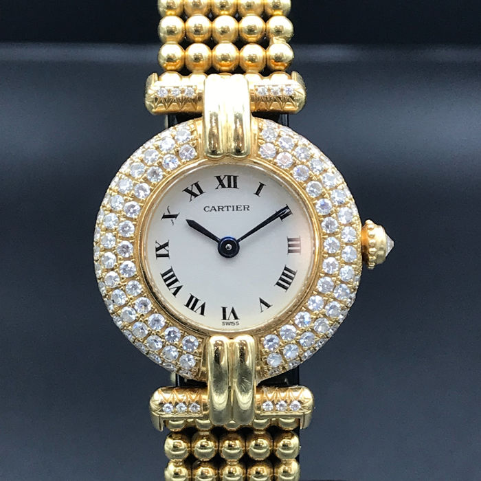Cartier - Coliséee Boule Diamants - Women - 1990-1999