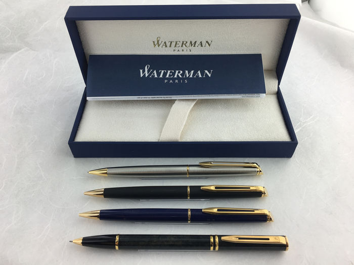 Waterman - mechanical pencils 4 pieces