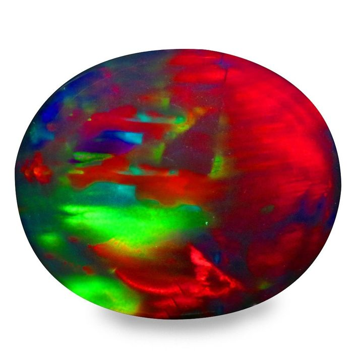 Play of Colors Opal - 3.08 ct