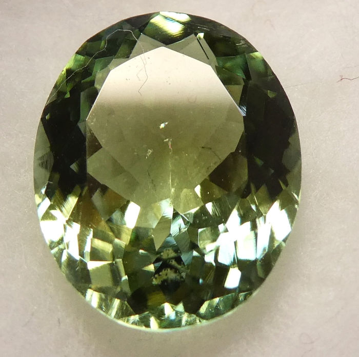Green Tourmaline - No Reserve Price - 4.08 ct