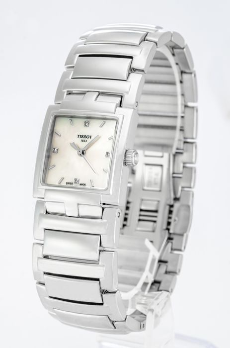 Tissot - 'NO RESERVE PRICE' Ladies Evocation Diamond Watch with mother of pearl - T051.310.11.116.00  - Dames - 2011-heden