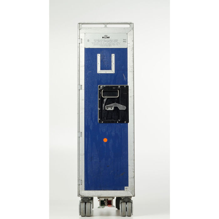 Driessen aircraft interior system - KLM Double Size Airplane trolley & 6 new trays