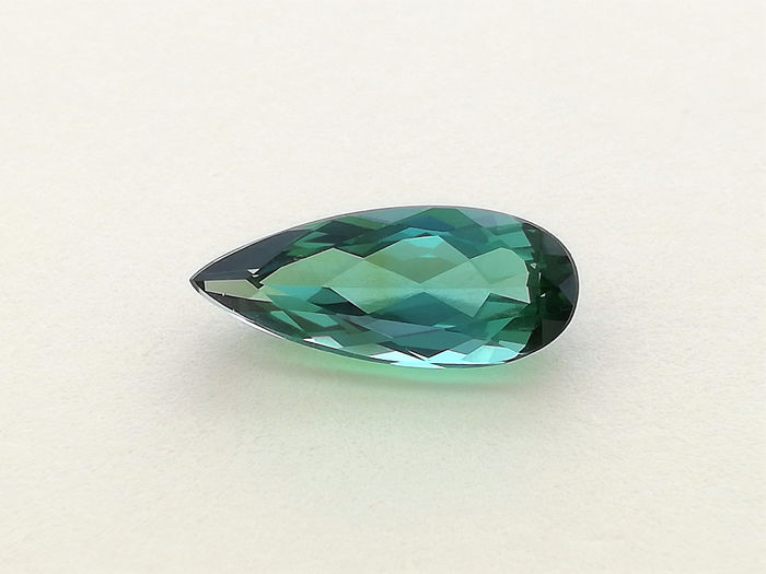 Blueish Green Tourmaline - 2.15 ct