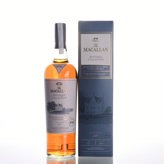 Macallan Boutique Collection 2017 Limited Edition - 2nd Release for 1st ever Macallan Boutique - 700ml