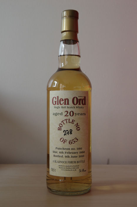 Glen Ord 1990 20 years old - Bladnoch Forum - b. 2010 - 0.7 L