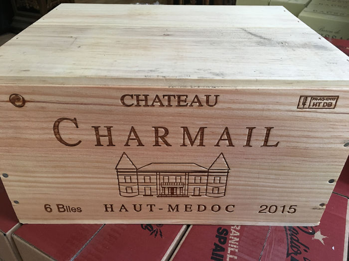 2015 Chateau Charmail - Medoc Cru Bourgeois - 6 Bottle (0.75L)